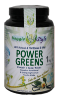 Power greens - Vegan protein + superfood (vaniglia) 2