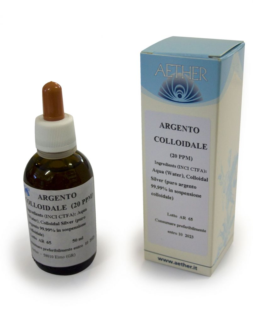 Argento colloidale 50 ml._aether